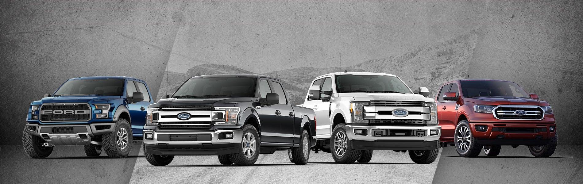 Ford Charleston Sc >> Ford Trucks Lineup Charleston Sc